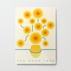 Van Gogh 1888 Metal Print