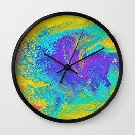 Artwork_040 - jessie.does.art Wall Clock