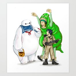Stay Healthy, Stay Puft Art Print