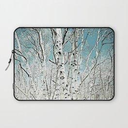 Spring birch trees Laptop Sleeve