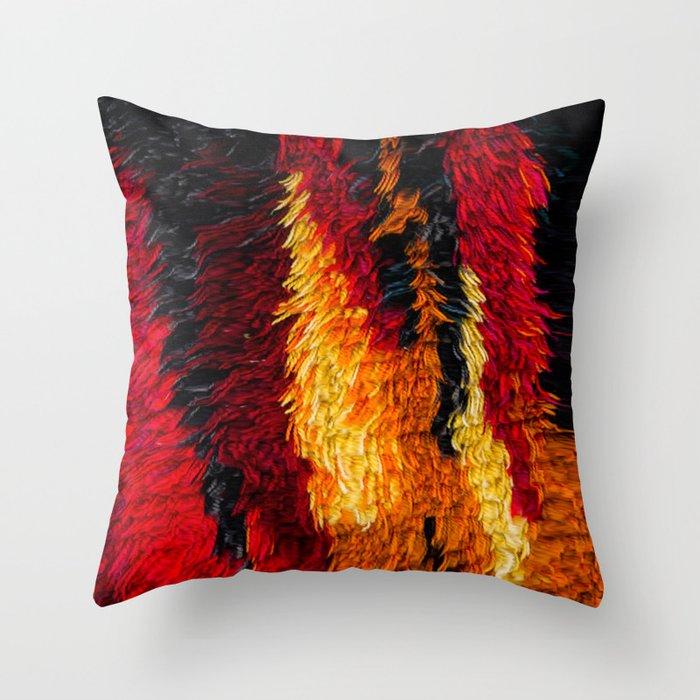 Fire! Throw Pillow