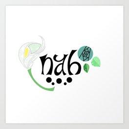NAH Art Print