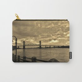 Riverfront At Dusk Carry-All Pouch