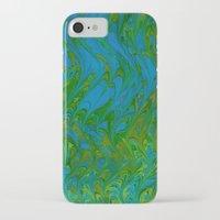 art nouveau iPhone & iPod Cases featuring Art Nouveau by Thien Warder