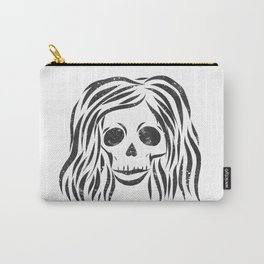 *Wild* - digital disstressed illustration Carry-All Pouch