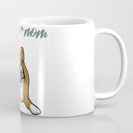 Never Underestimate a Boxer Mom With A Nursing Degree Coffee Mug