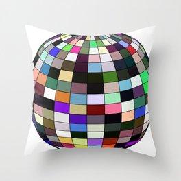 ball facettes 4 Throw Pillow