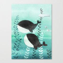 Goodnight Canvas Print