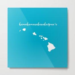 Hawaii Islands Metal Print