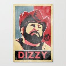 Dizzy 'Diz' Wallin Canvas Print