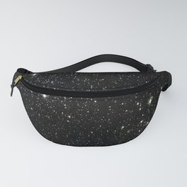 Space - Stars - Starry Night - Black - Universe - Deep Space Fanny Pack
