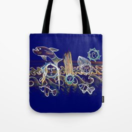 More Suns for Life at Deep Blue Tote Bag