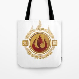 Fire Nation Admiral Tote Bag