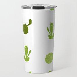 Cats or Cacti? Travel Mug