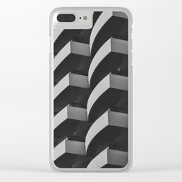 Fascinating Facade Clear iPhone Case