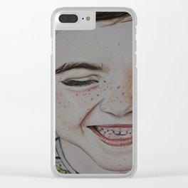 Pure innocence Clear iPhone Case