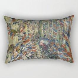 The Rue Montorgueil in Paris Rectangular Pillow