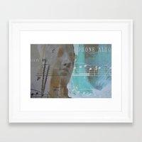 palo alto Framed Art Prints featuring Saxophone alto by arantzazugcalderon