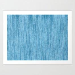 Crinkle in Blue Art Print