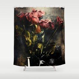 Forgotten Roses Shower Curtain