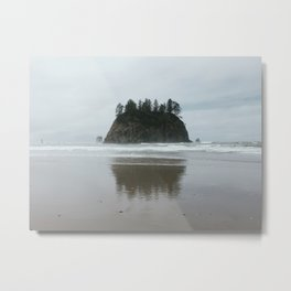 Coastal Island, 2nd Beach, Olympic National Park, La Push, Washington Metal Print