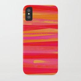 Strokes- Orange iPhone Case