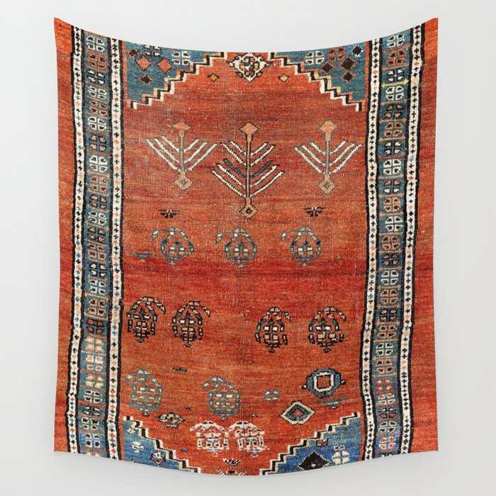 Bakhshaish Azerbaijan Northwest Persian Carpet Print Wall Tapestry