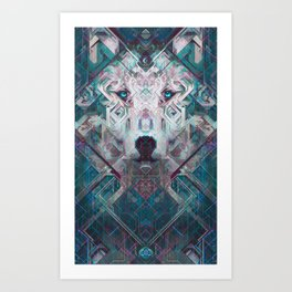 Moon Watcher Art Print