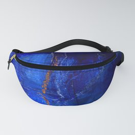 Into The Blue No.3a by Kathy Morton Stanion Fanny Pack