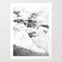 return Art Prints featuring Return by vorone