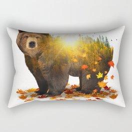 Equinox | Bear Rectangular Pillow