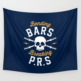 Bending Bars Breaking PRs Wall Tapestry