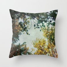 forest 015 Throw Pillow