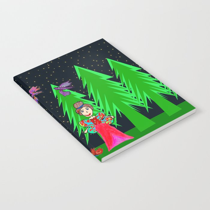Night Fairy | Before Christmas | Kids Painting Notebook