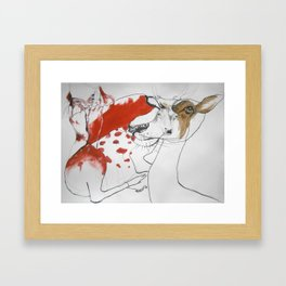 soul mate2 Framed Art Print
