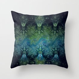 The Jelly Squids Are Coming Throw Pillow