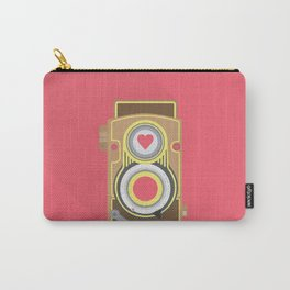 Old School Camera // Analogue // Retro Vintage Carry-All Pouch