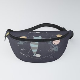 Cats are the best friends Fanny Pack