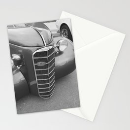 Black and White Beauty Stationery Cards