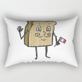 le French toast Rectangular Pillow