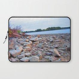 Rocks on the lake Laptop Sleeve