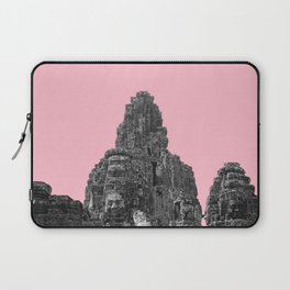 Angkor Wat with pink Laptop Sleeve