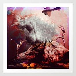 Creation Of Goddess Art Print