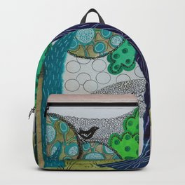 Blue trees Backpack