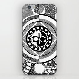 Infinity of Two iPhone Skin