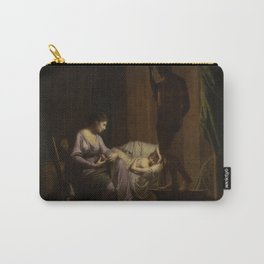Joseph Wright of Derby - Penelope Unraveling Her Web Carry-All Pouch