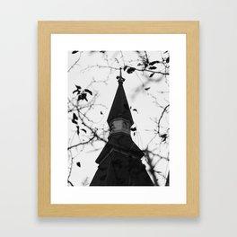 King Chapel Framed Art Print