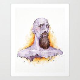 Hephaestus Art Print