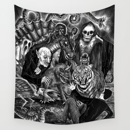 Fear Is The Devil Wall Tapestry