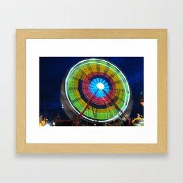 Spinning Wheel Framed Art Print